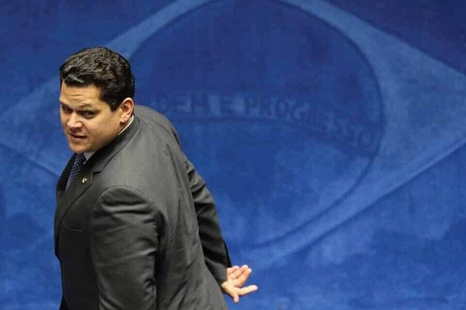 Presidente do Senado, Davi Alcolumbre (DEM-AP). Foto: Fabio Rodrigues Pozzebom/ABr