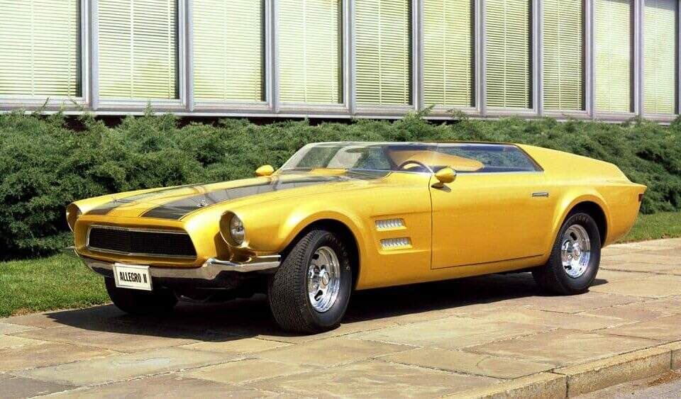 Ford Mustang Allegro II 1967.