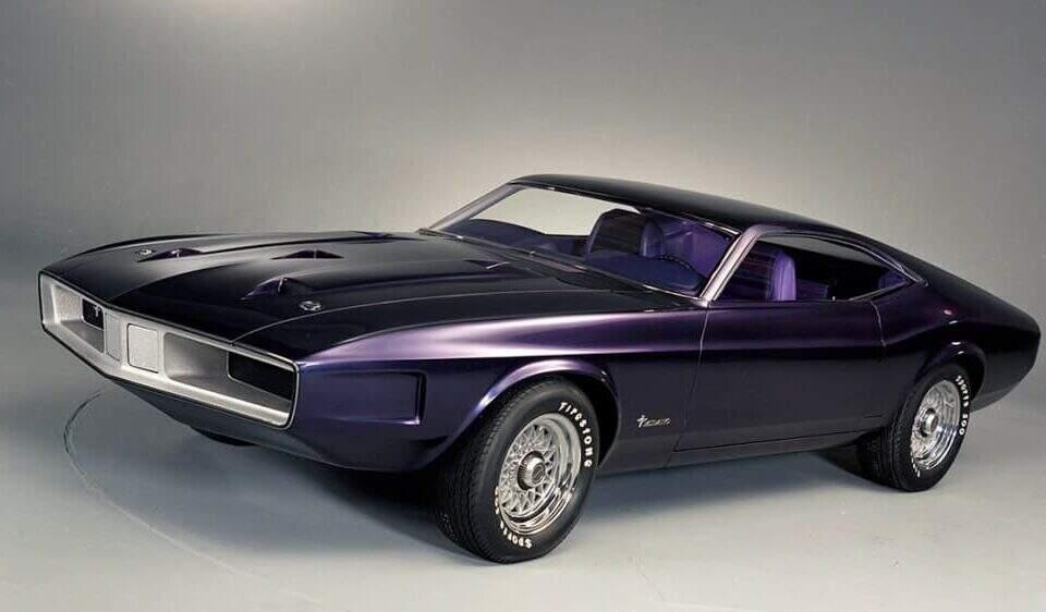 Ford Mustang Milano 1970.