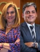 Cléa Corrêa e Everardo Gueiros