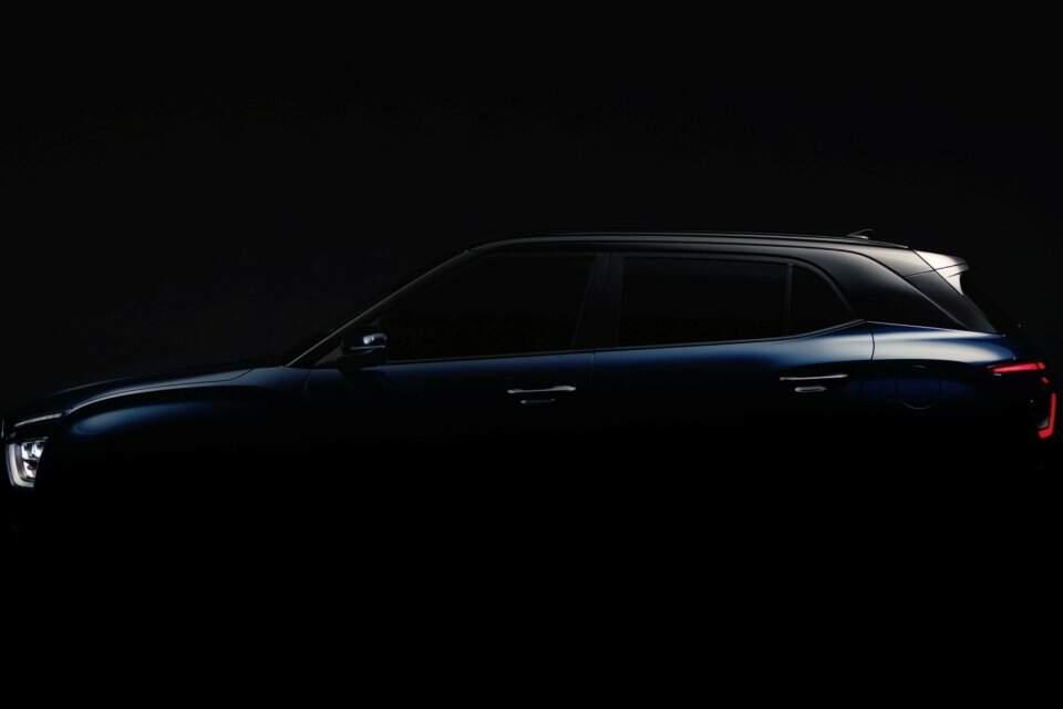 Teaser do Hyundai Creta 2022.