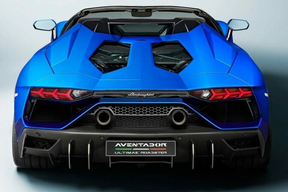 Lamborghini Aventador LP780-4 Ultimae Roadster.