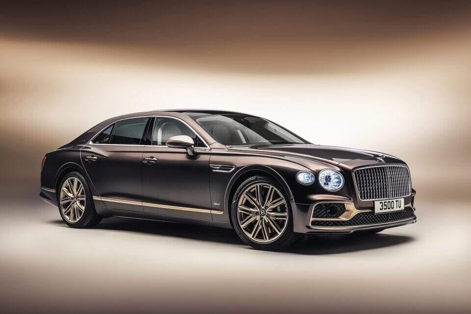 Bentley Flying Spur Hybrid Odyssean Edition.