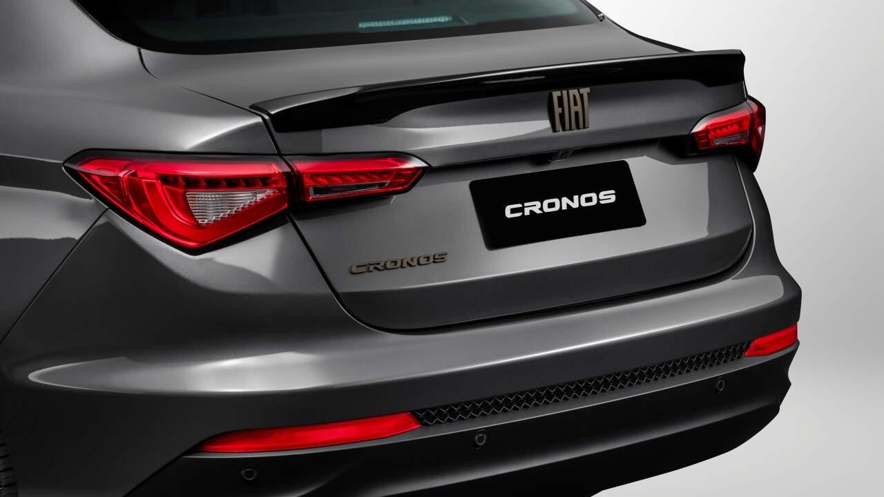 Tampa do porta-malas do Fiat Cronos Drive 1.3 MT S-Design 2022.